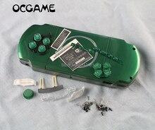 OCGAME Shell repuestos para consolas de juegos cubierta de cobertura completa carcasa con botones kit para PSP3000 PSP 3000