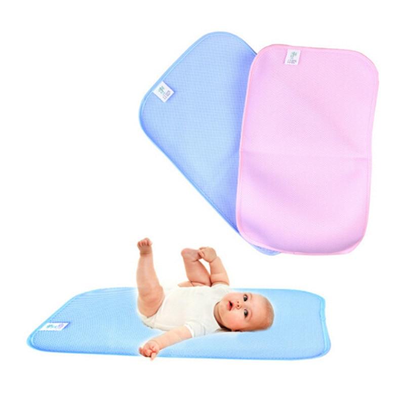 Baby Bamboo Reusable Diapers Kids Waterproof Mattress Bedding Diapering Changing Mat Sheet Care Pad For Babies