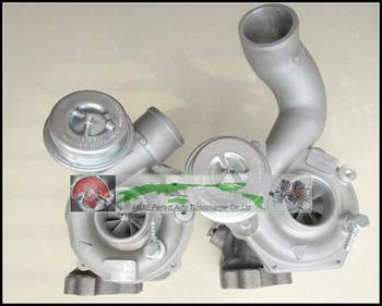 Twin Turbo Pour AUDI RS4 00-Quattro ASJ AZR V6 2.7L 380HP K04 25 + 26 53049880025 53049880026 53049700025 53049700026 Turbocompresseur