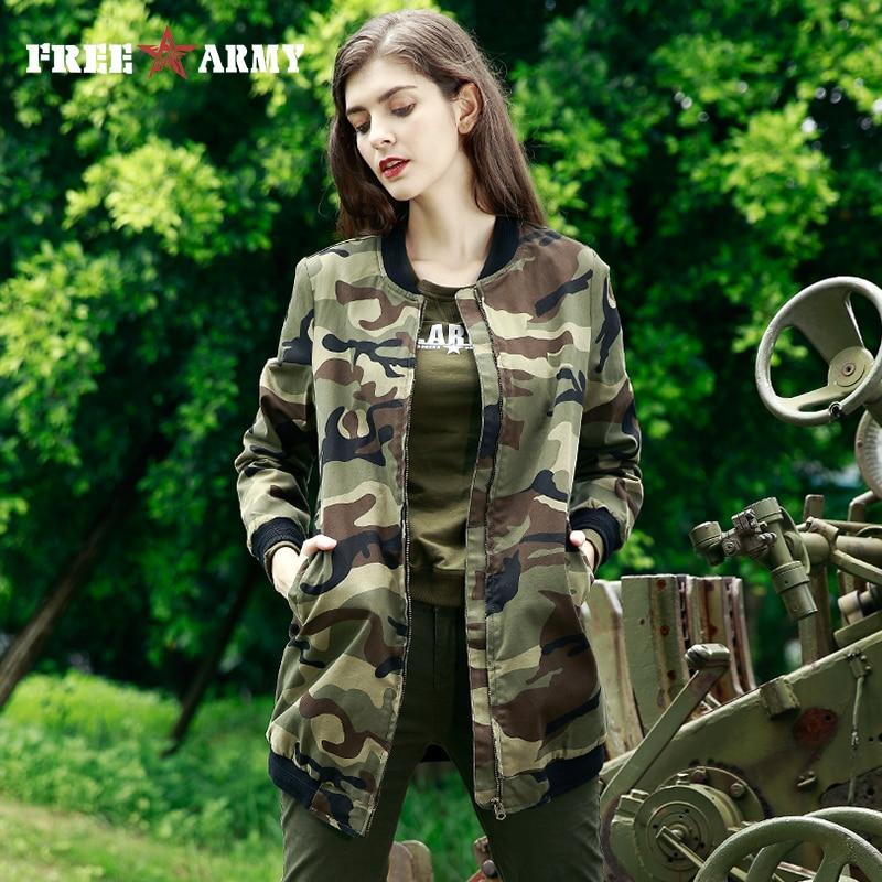 Marque Trench De Armée Seelve Fashion Femme Camouflage Livraison Femmes Nouveau Style Base Manteau Long Pardessus Vêtements qzdxOtw