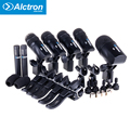 AIBIERTE Alctron T8500 high Quality Drum microphone Dynamic Wired Mic kit For snare, tom tom and floor tom drum and bass drum