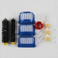 Replacement Brush Filter Kit For IRobot Roomba Aerovac 600 700series