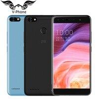 Оригинальный zte лезвие A3 4G LTE мобильный телефон 5,5 дюймов 3 ГБ 32 ГБ 4 ядра 1,5 ГГц 13.0MP 4000 мАч отпечатков пальцев Android N телефона