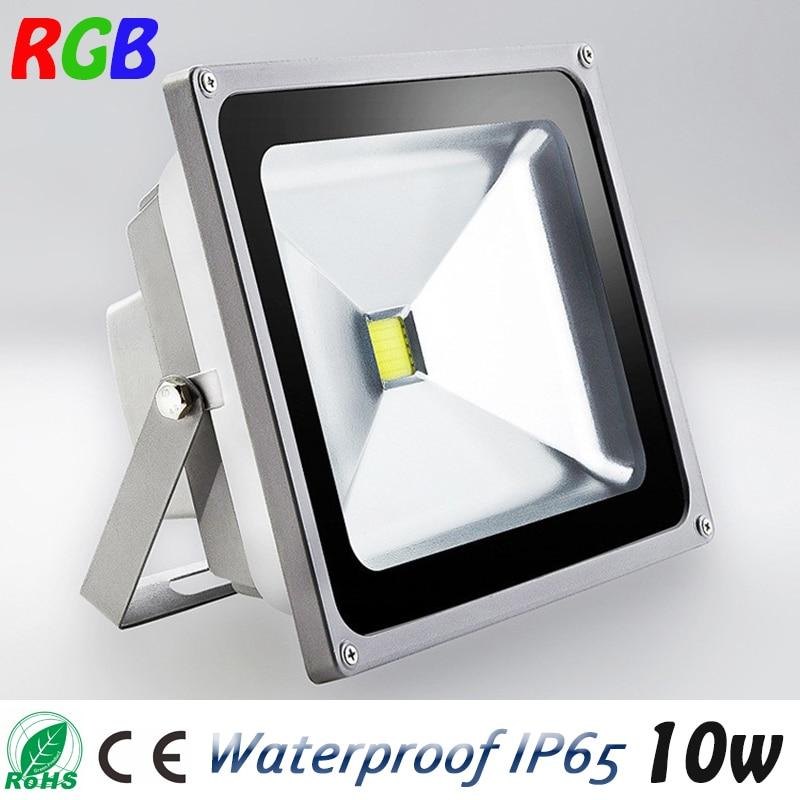 1 Pieces Mini 10W LED Flood Light Waterproof Floodlight Landscape Lighting Lamp Warm White IP65 High Luminous Efficiency