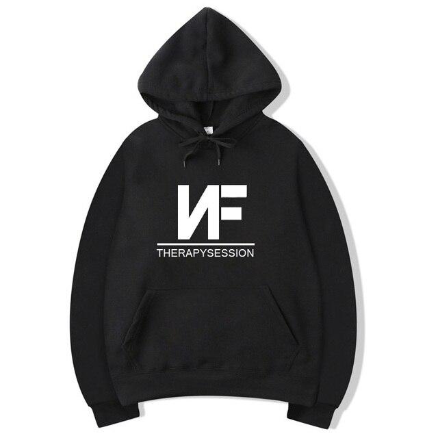 0d172e1f233 Vsenfo NF Therapy Session Hoodie Men Women Hip Hop Rapper Sweatshirt  Pullover Fleece Autumn Winter Hoodies