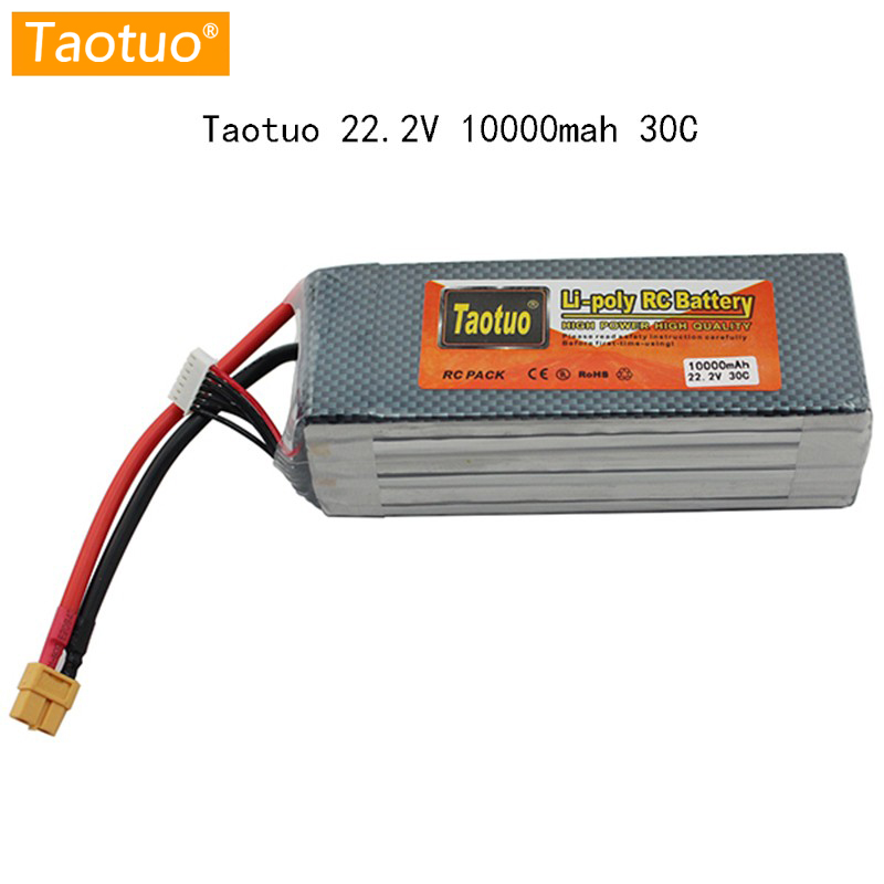 Lithium Power Lipo Battery 22.2V 10000mah 6S 30C XT60 For Dji Phantom S900 S1000 RC Quadcopter Drone Bateria Helicopter for dji phantom s900 s1000 rc quadcopter battery 22 2v 10000mah 6s 30c xt60 plug li polymer lipo battery fpv parts bateria