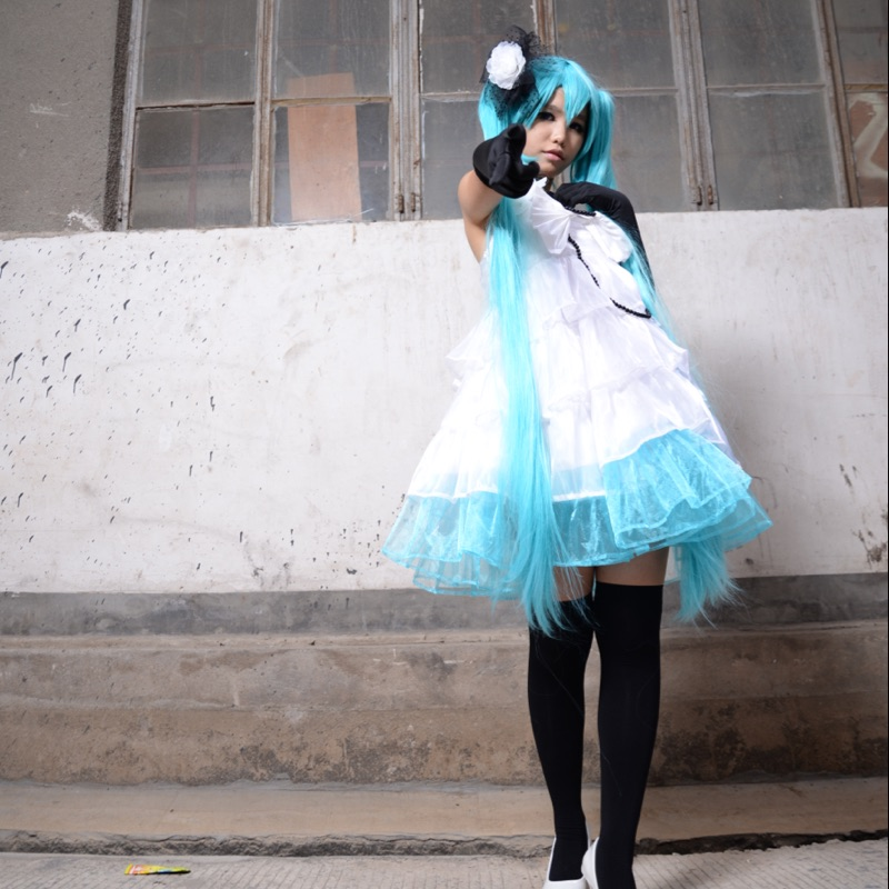 Camellia Hatsune Miku Cosplay Clothing Japanese Anime Vocaloid Cosplay Costume
