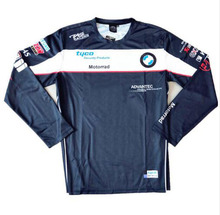 New hot sale Tyco moto gp Motorrad Motorcycle T-shirt Long Sleeve Motocross Jersey Motorsport Cycling Polyester shirts for BMW puma bmw motorsport backpack