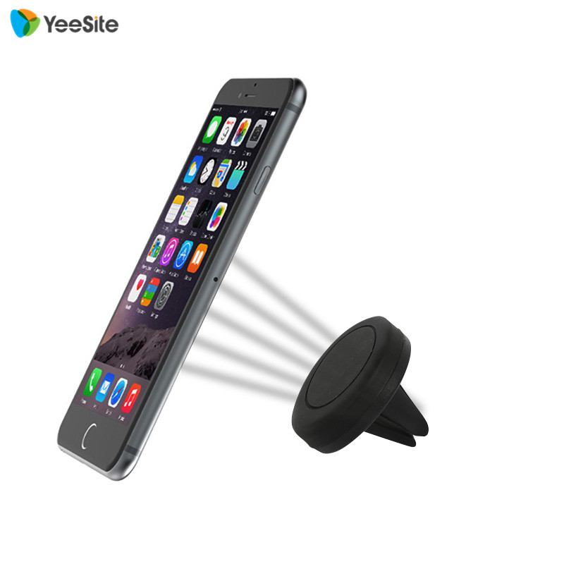 Magnetic Car Air Vent Mount Clip Holder Dock For iPhone 6 ...
