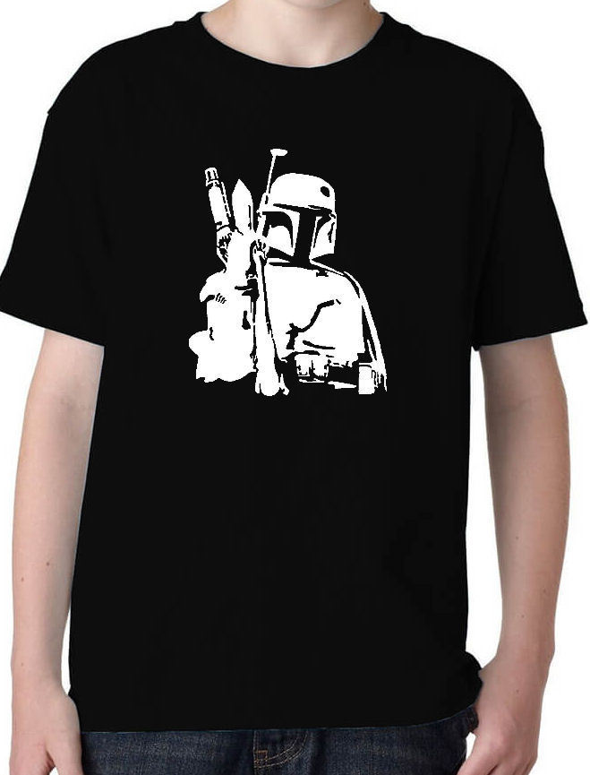 Boba Fett 2 Star Wars Film T-Shirt Cool Casual pride t shirt men Unisex Fashion tshirt free shipping funny tops 100% Cotton Tee image