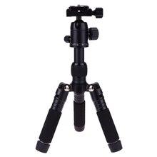 Mini Portable Adjustable Camera Folding Tripod with Ball Head for LSR Canon Nikon Sony Gopro Action Camera Desktop Tripod