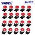 WOFEA 120db 20 個有線ミニ音警報サイレンホーン警報システムのための