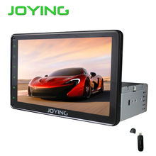 Android Car Car Multimedia Player Joying 10.1 Inch Single1 Din Universal Quad Core GPS Navigation System Head Unit+3G dongle