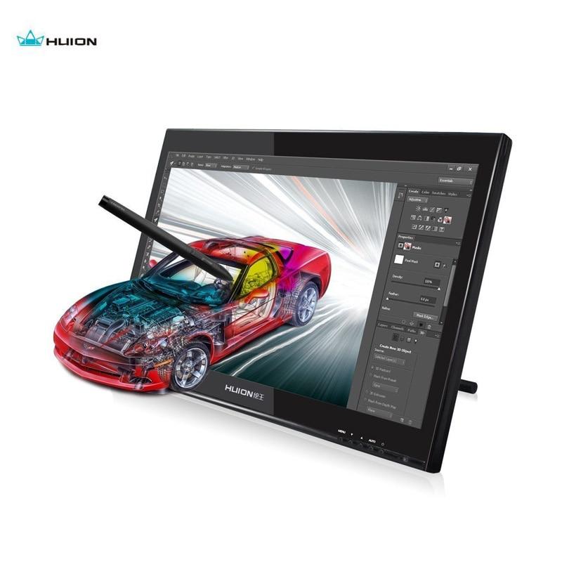 Huion 18.95 pouces professionnel graphique tablette moniteur 5080 LPI affichage numérique écran tactile GT190 avec 1440x900 résolution HD