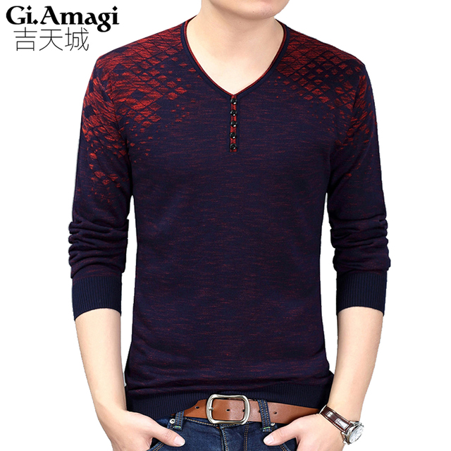 2018 Eden Park Mens Knitted Sweaters Pullover Men Autumn New Tide Men s  Sweater Large Size Long 0b639bc40f