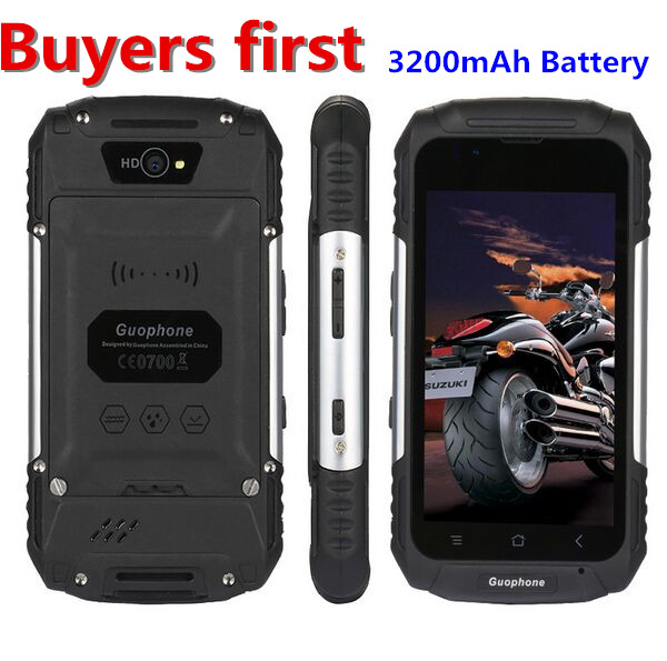 Guophone V88 Waterproof SmartPhone MT6580 Quad Core Android 5 1 4 0Inch IPS QHD 1GB RAM