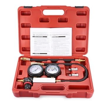 Hot sale Car Cylinder Leakage Tester Meter Kit Universal Pressure Gauge Diagnostic Inspection For Auto Internal Engine Problems