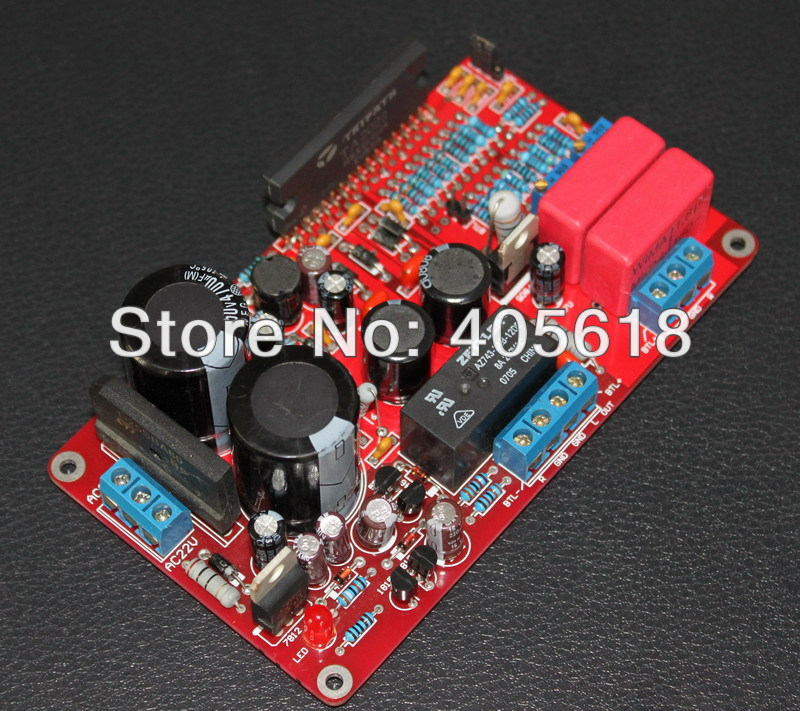 CLASS T 50-150W TA2022 Power Amplifier assembled Board Audiophile Sound Quality High Efficiency assembled mt 150 150w class a ab power amplifier board no heatsink