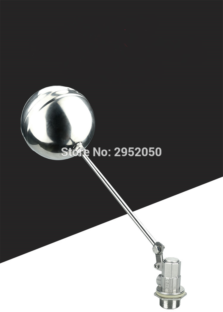 Free shipping 1/2 inch dn15 Floating Valve Cold and Hot Water Tank Stainless Valve Water tower float valve switch free shipping 1 2 inch dn15 floating valve cold and hot water tank stainless valve water tower float valve switch