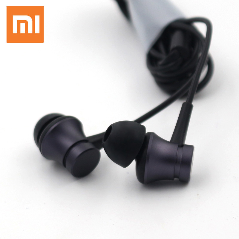 Xiaomi Mi 3.5mm In-Ear Earphones with Mic Original Xiaomi Piston 3 Fresh Youth Version Earphone 1.4m Music Stereo For Smartphone