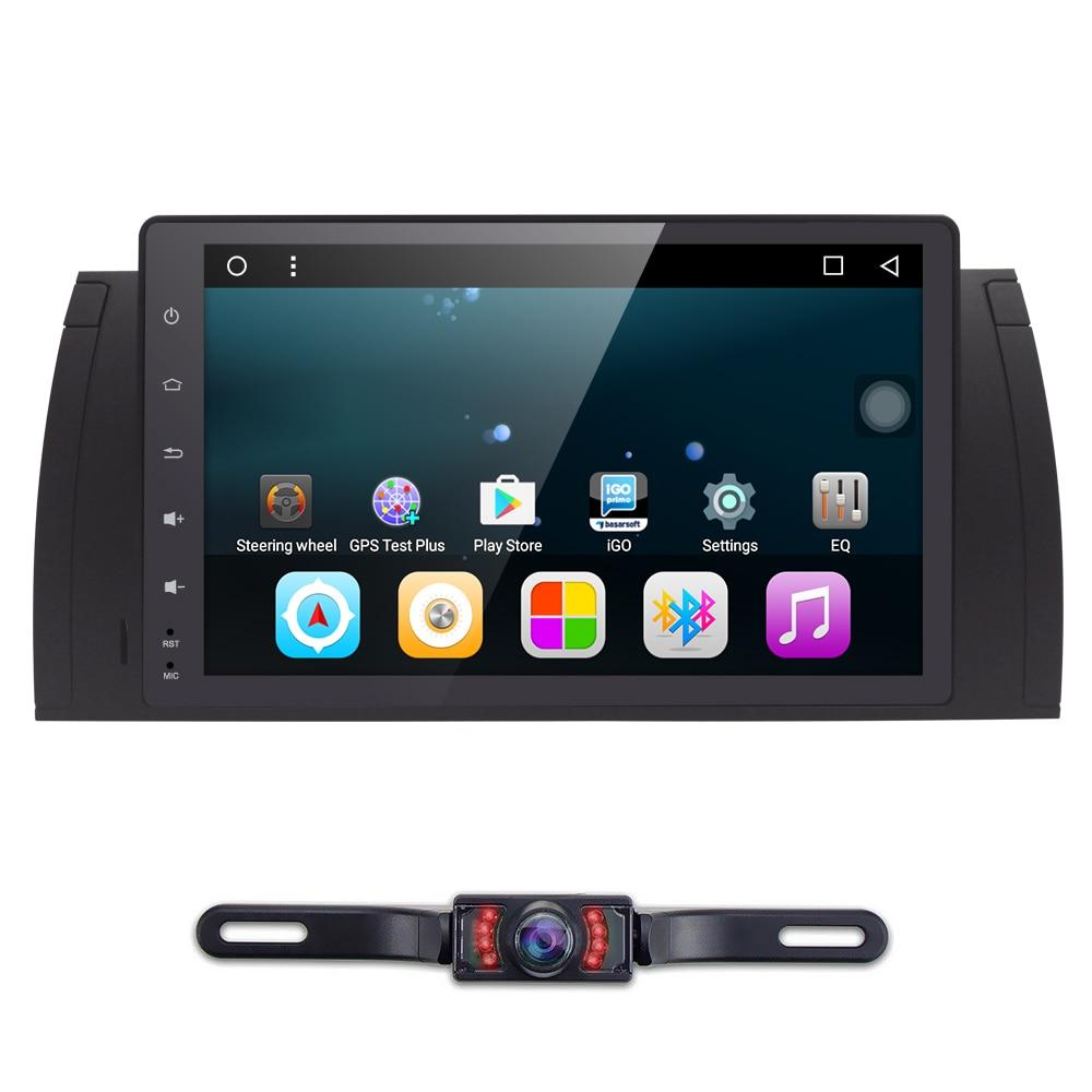 "Super 9"" Screen Android 6.0 Car Radio for BMW E39 E53 X5 ..."