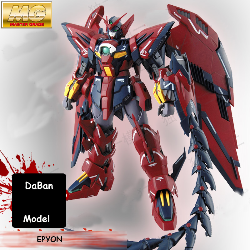 DABAN MODEL Albion Devil Epyon Gundam MG 1/100 assembling robot toy building toys model marvel action figures gifts model fans in stock daban gundam model pg 1 60 unicorn gundam phoenix self assambled robot 350mm toys figure