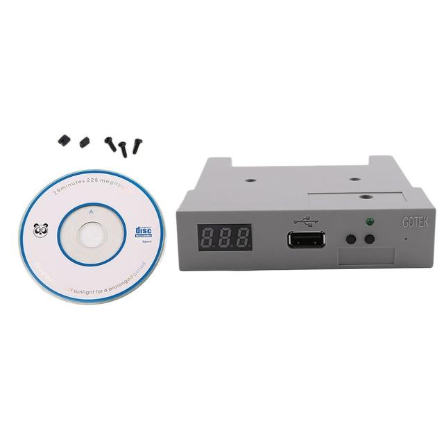"Professional DC 5V 3.5"" 1000 Floppy Disk Drive USB External Emulator Simulation New 1.44MB Roland Keyboard with CD Driver"
