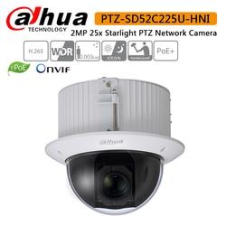 Dahua SD52C225U HNI 2MP 25x Starlight PTZ Networa automatycznego śledzenia IVS PTZ H.265 High Speed Dome kamera PTZ DHI SD52C225U HNI w Kamery nadzoru od Bezpieczeństwo i ochrona na
