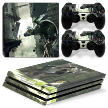 Newest Vinyl Cover Decal PS4 Pro Skin Sticker For Sony Playstation 4 Pro Console 2 Controllers Skins Stickers