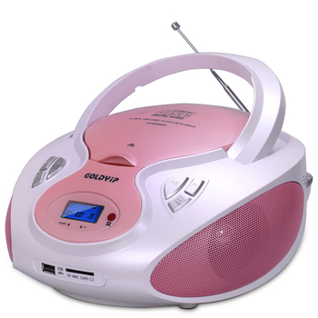 Speaker cd player Mutil Function Portable CD for Study Antenatal Education support USB/SD antenatal training CD player