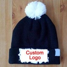Tampão do inverno gorros com pom pom bola design personalizado tamanho  adulto chapéu do inverno manter quente senhora cap gorro . ec089e67600