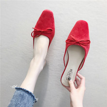 HKCP Baotou half new women thick with 2019 rubber cool outside wear slippers C494