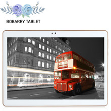10.1 inch 3G 4G Lte The Tablet PC Octa Core 4G RAM 128GB ROM Dual SIM Card Android 5.1 Tab GPS bluetooth tablets +leather case