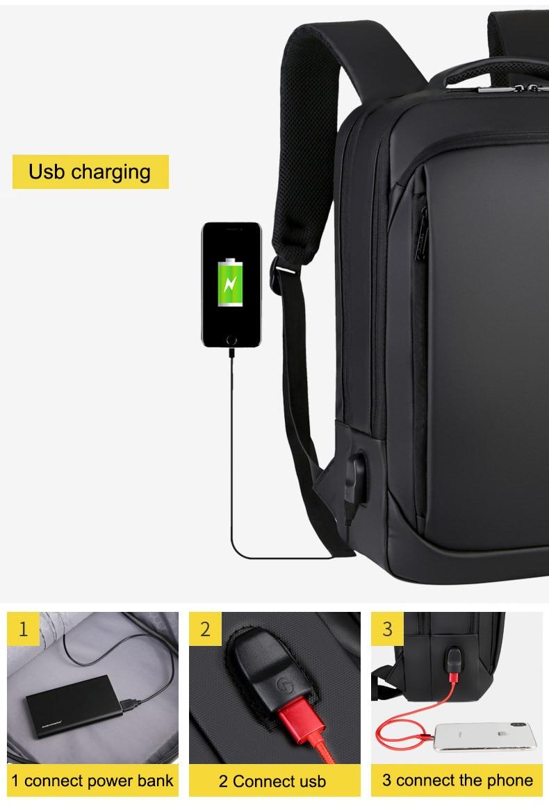 Sac à dos pour ordinateur portable multifonctionnel 8
