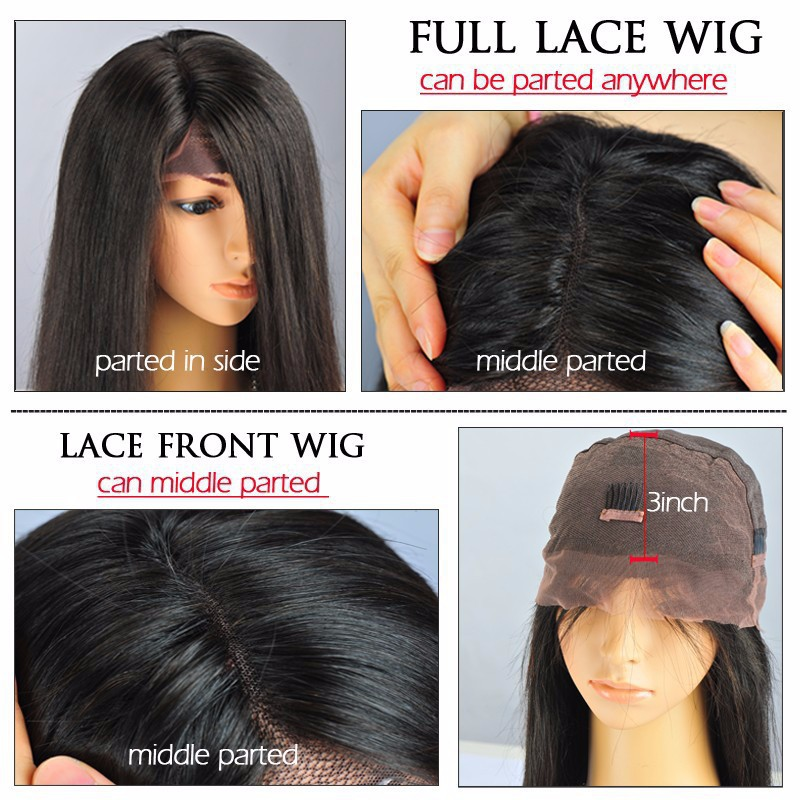 180 Density Brazilian Body Wave Full Lace Wig With Baby Hair Glueless Lace  Front Wigs Natural Hairline For Black Women Free SHIP on Aliexpress.com  e4a53a9c6c83