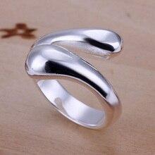 Klasický styl stříbrné šperky Náhrdelník Náušnice Prsten náramek Vodní kapka tvar nevěsta Svatební šperky Set