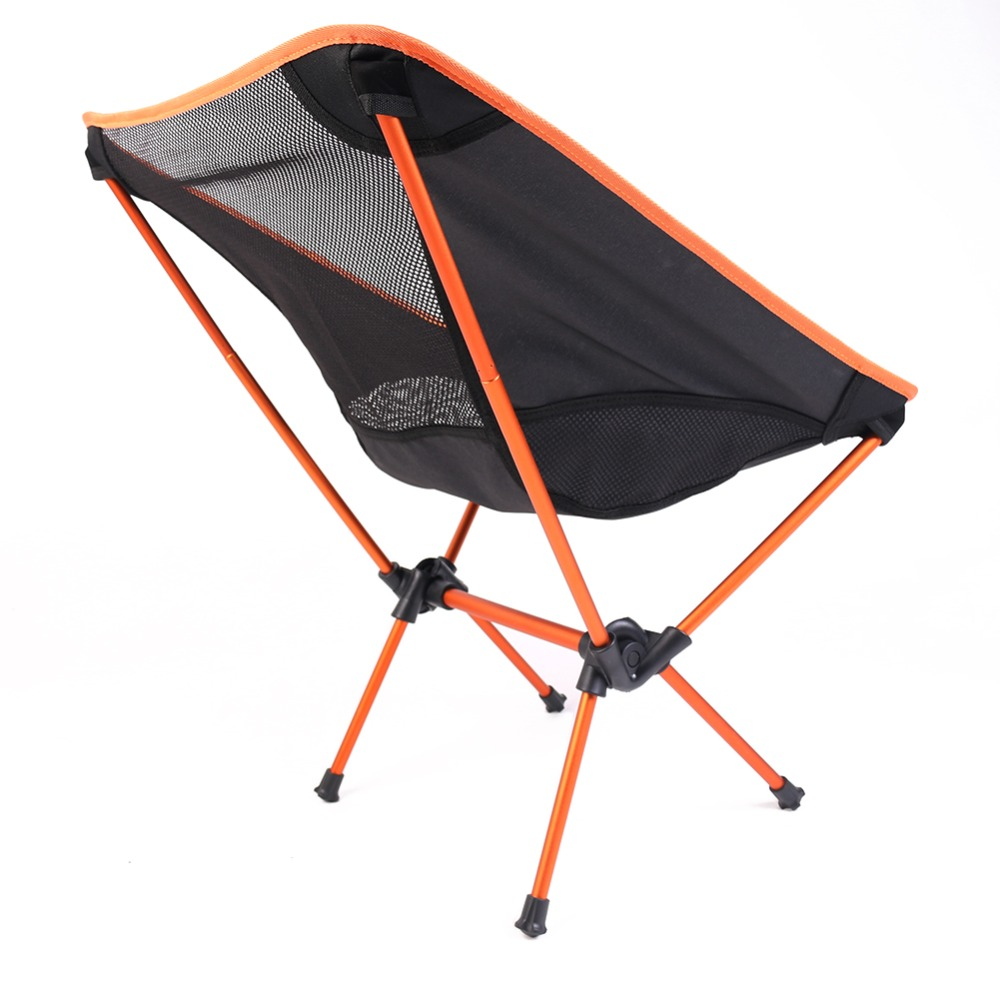 Folding Moon Chair Portable Lightweight Outdoor Picnic Camping Fishing  Festival Hiking BBQ Beach Seats Aluminum Lounge Chair In Beach Chairs From  Furniture ...