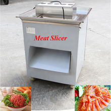 250Kg Hour Stainless Steel Meat Cutting Machine 650W Cutter Slicer Beef Food