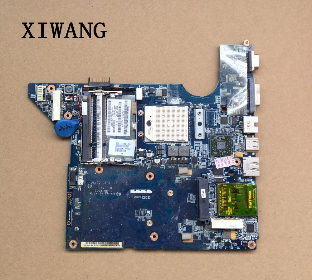 Free Shipping Motherboard FOR HP DV4 488238-001 511858-001 100% TESTED JBL20 LA-4111P