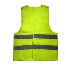 10 шт. жилет светоотражающий жилет рабочая одежда обеспечивает высокую видимость День Ночь для бега Велоспорт Предупреждение безопасности жилет