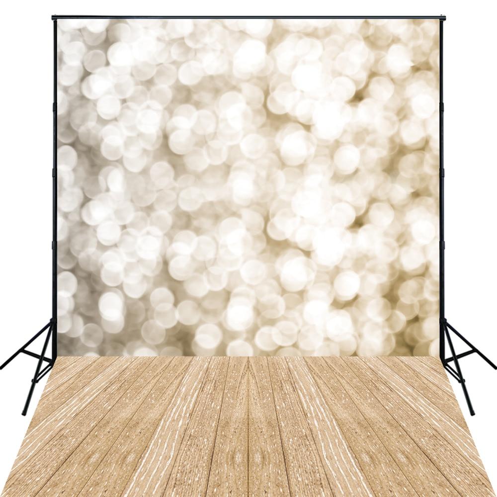 Birthday Photography Lighting: 4X6ft Art Fabric Sparkle Lights Photo Backdrop Photography