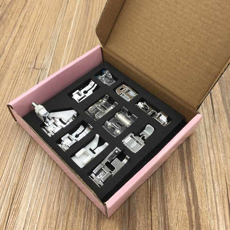 sewing machine 11pcs Multifunction Presser Foot Spare Parts Accessories for Sewing Machine tools