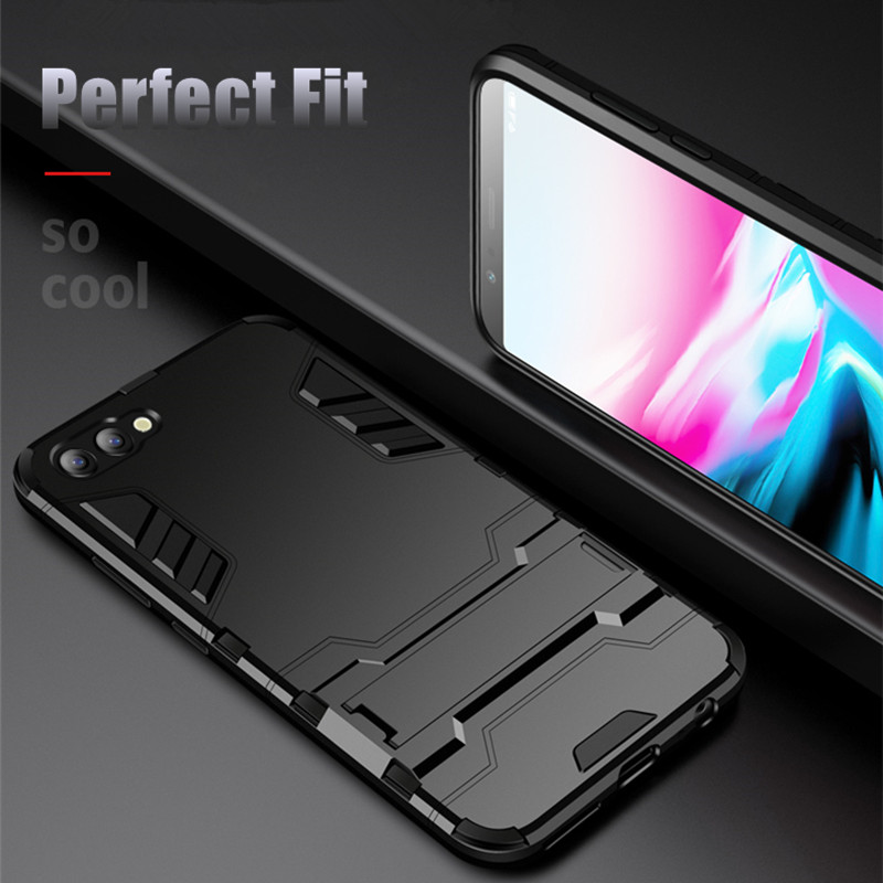 Cases For Apple <font><b>iPhone</b></font> X XS XR Max SE 2020 Case Coque For <font><b>iPhone</b></font> 11 Pro Max 8 Plus 7 6 6S Plus Hybrid Heavy Armor Stand Cover image