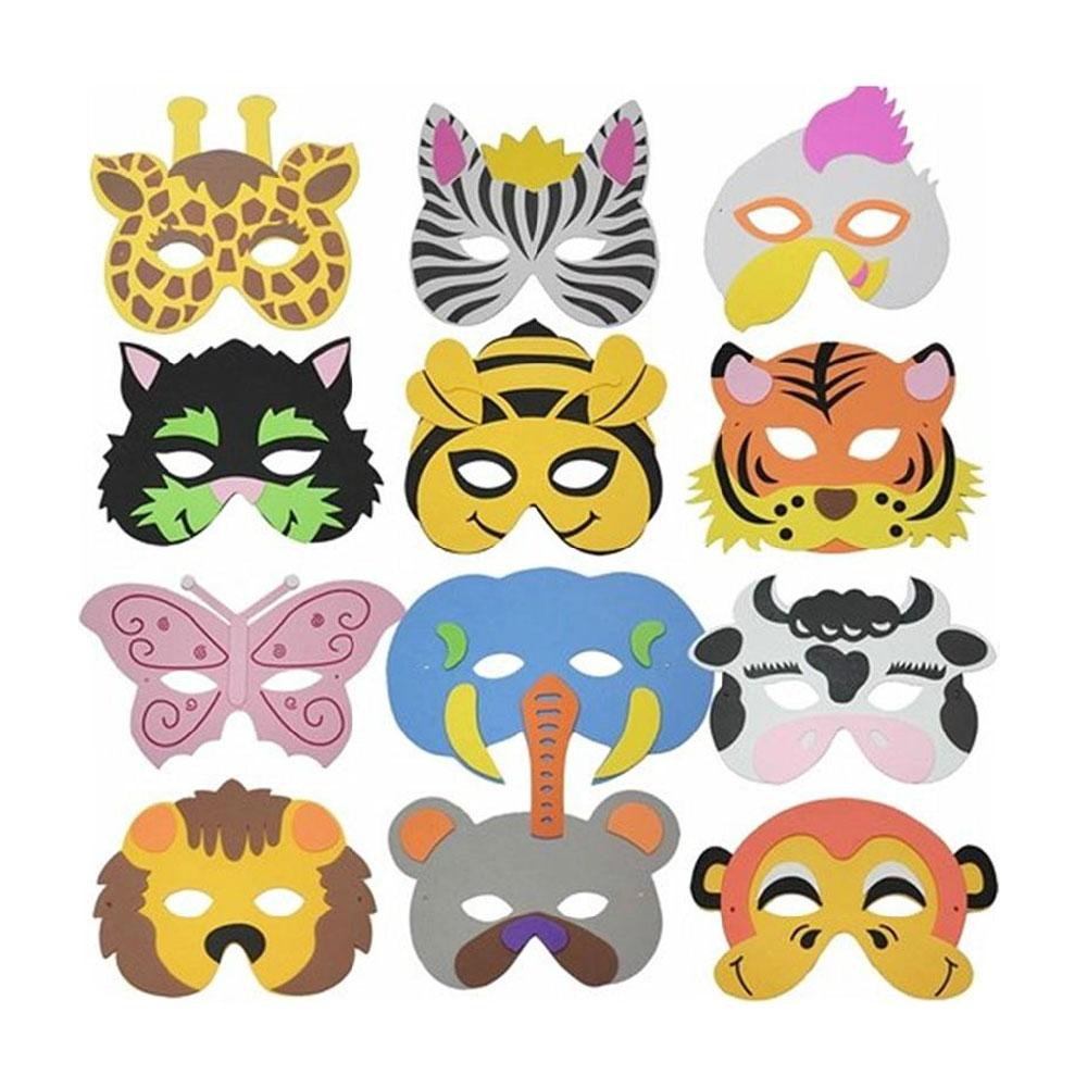 Картинки масок разных животных