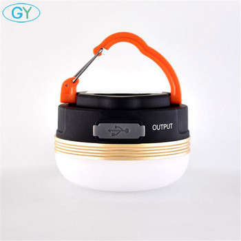 Battery or USB Charging Led Portable Lantern LED Camping Tent Light with Magnet, Hanging or Magnetic led Working Emergency Lamp 1