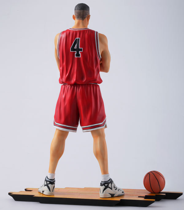 2017 Anime Figure Slam Dunk 24CM Number 4 Akagi Takenori PVC Action Figure Collectible Toy in Action Toy Figures from Toys Hobbies