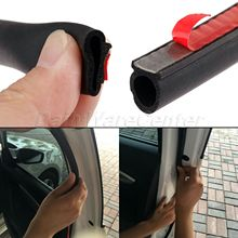 8Meter Small D Shape Car Door Window Sealing Strip EPDM Rubber Noise Insulation Anti-Dust Soundproof Seal For Engine Trunk