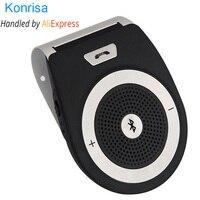 Bluetooth Car Kit Handsfree Noise Cancelling Bluetooth V4 1 Receiver Car Speakerphone Multipoint Clip Sun Visor