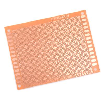 5PCS x 7x9 cm Single Side PROTOTYPE PCB 7*9 panel Universal Board 2.54mm bakelite plate Board <font><b>1.5mm</b></font> thickness <font><b>Connector</b></font> image