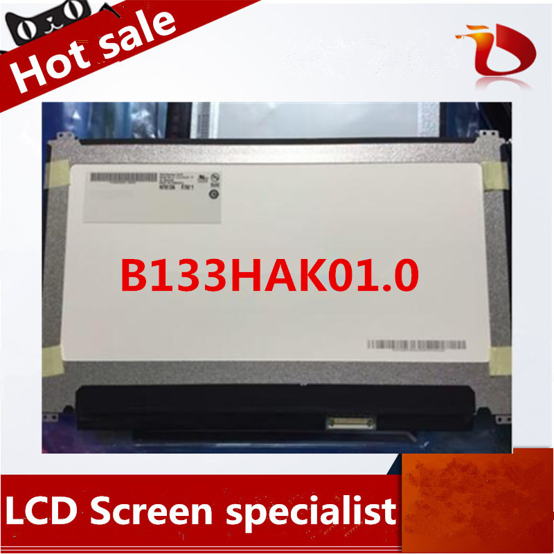 Original 13.3'' Laptop lcd led screen B133HAK01.0 1920*1080 eDP 40pins free shipping free shipping new original 13 3 laptop lcd led screen lq133m1jw01 1920 1080 30pins notebook display